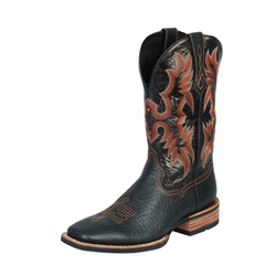 Ariat Men's Tombstone Western Boots - Black 10005873