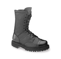 "Rocky 10"" Men's Zipper Jump Boots - Black 2090"