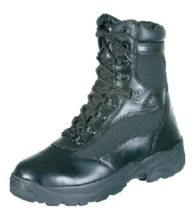 Rocky Men's 8 inch Zipper Fort Hood Duty Boots 2149