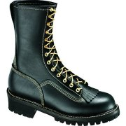 "Thorogood Women's 10"" Wildland Fire Boot With removable Kiltie 534-6371"