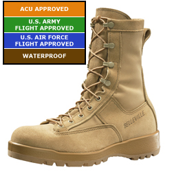 Men's Belleville 790 - Mens Waterproof Combat & Flight Boots