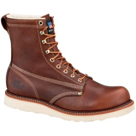 "Thorogood 8"" Plain Toe Waterproof Insulated (Non-Safety) - Brown 814-4009"