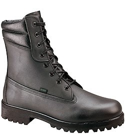 Thorogood Men's 8'' Waterproof/Insulated Weatherbuster Boots - Black Leather 834-6731