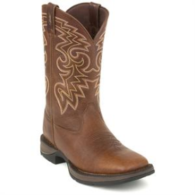 Durango Men's Rebel Dark Brown Pull-On Western Boot DB5434