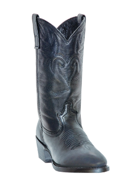 "Dingo Men's Western Boots: ""Minnesota"" Black DI05980"