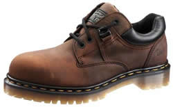 Dr. Martens Mens Static Dissipating Leather ESD Work Shoes