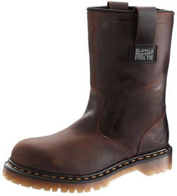 Dr. Martens Mens Industrial Strength Wellington Steel Toe Leather Work Boots
