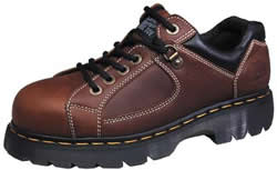 Dr. Martens Mens Industrial Strength Lace To Toe Steel Toe Leather Work Shoes