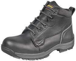 Dr. Martens Mens Black Industrial Bear 5 Eye Boots