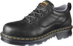 Dr. Martens Mens Industrial Welted 4-Eye Leather Work Shoes