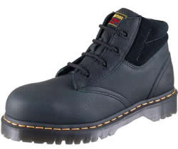Dr. Martens Mens Icon 4 Eye Industrial Bear and Suede Boots