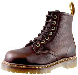 Dr. Martens Mens Icon 7 Eye Bark Industrial Bear Boots