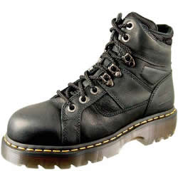 Dr. Martens Mens Ironbridge Industrial Grizzly Safety Toe Boots