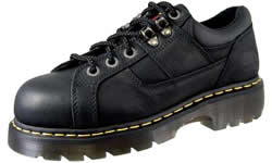 Dr. Martens Mens Black Gunby Industrial Grizzly Safety Toe Boots