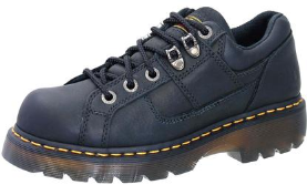 Dr. Martens Mens Black Gunby Industrial Grizzly Boots