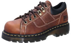 Dr. Martens Mens Teak Gunby Industrial Grizzly Boots