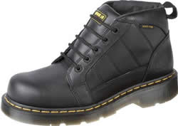 Dr. Martens Mens Reactor Black Industrial Fullgrain Boot