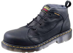 Dr. Martens Womens FX Black Industrial Bear Safety Toe Shoes DRM-R12784001