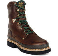 "Georgia Men's 8"" Giant Boot - Brown Soggy G8274"