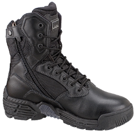 Magnum Men's Stealth Force 8.0 Side-Zip Black Tactical Boots 5198
