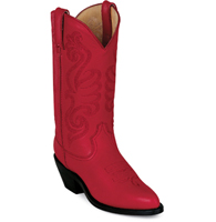 Durango Women's Leather Western Boots - RED - RD4105