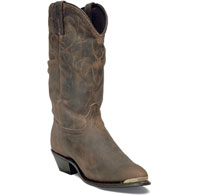 Durango Women's Distressed Leather Western-Brown RD542