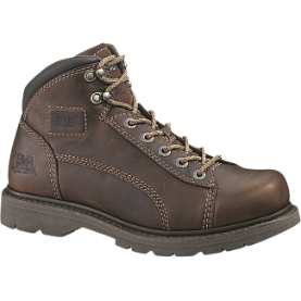 Caterpillar Women's P89887 Lander Mid Steel Toe Boots - Bark