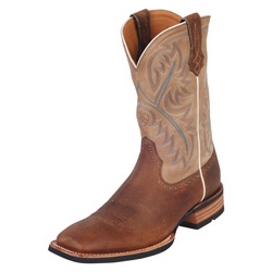 Ariat Quickdraw Men's Western Boot- Bark/Beige 10002224
