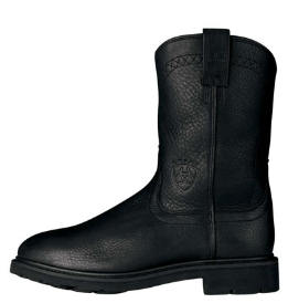 Ariat Men's Sierra Work Boots - Black 10002422