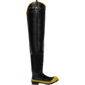 "Lacrosse Men's Economy 32"" ST Hip Boot - Black 24009091"