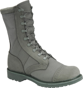 "Corcoran Men's 10"" Roughout Leather and Cordura Marauder Boot-Sage Green 87146"
