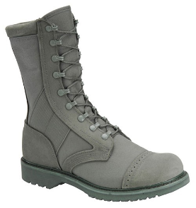 "Corcoran Women's 10"" Roughout Leather and Cordura Marauder-Sage Green 87257"
