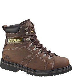Caterpillar Men's Silverton Work Boots – Dark Brown 73237
