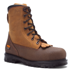 "Timberland Pro Men's 8"" Waterproof Steel Toe Rigmaster Lace Rigger - Fox Brown 88530"