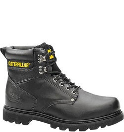 Caterpillar Men's Second Shift Safety Boots – Black 89135