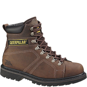 Caterpillar Men's Silverton Safety Boots - Dark Brown 89701