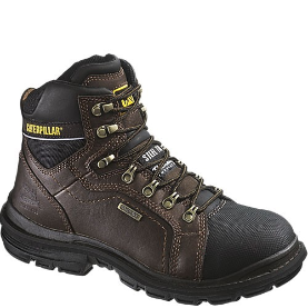 Caterpillar Men's Manifold Safety Boots - Brown 89981