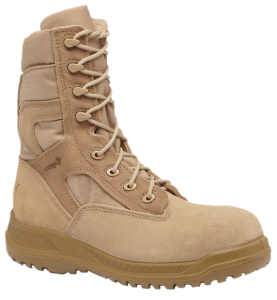 Belleville Mens Hot Weather Tactical Safety Toe Boots-Tan 310ST