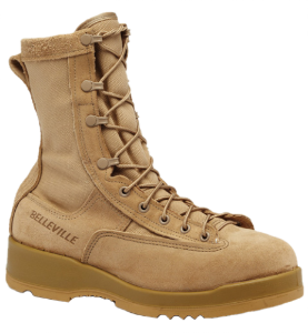 Belleville Mens Hot Weather Steel Toe Flight Boots-Tan 330 DES ST