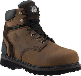 Georgia Men's Brookville WP Work Shoe - Brown G7134