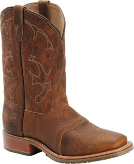 Double H Men's Wide Square Toe ICE Roper-Oldtown Folklore DH3560