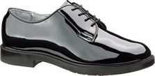 Bates Women's High Gloss Durashocks Oxford-Black - E00742
