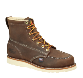 "Thorogood Men's 6"" Brown Moc Toe Non-Safety 814-4203"