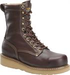 Carolina Men's 8'' Broad Toe Wedge Work Boots - Brown CA8049