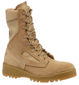 Belleville Mens Hot Weather Steel Toe Flight Boots-Tan 340 DES ST