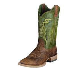 Ariat Men's Mesteno-Adobe Clay/Neon Lime 10006841