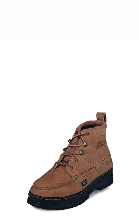 Justin Men's Casuals - Copper Grizzly Chukka - 995