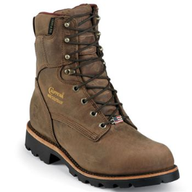"Chippewa Men's 8"" Insulated Work Boots Bay Apache 29416"