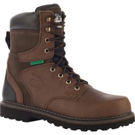 "Georgia Men's 8"" Brookville WP Work Boot - Brown G9134"