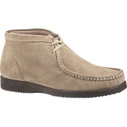 Hush Puppies Bridgeport Men's Chukka - Taupe Suede H14917